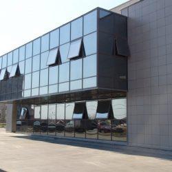 производство светопрозрачных конструкций для магазина