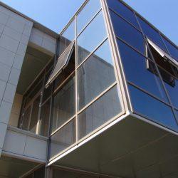 алюминиевые конструкции для торгового центра