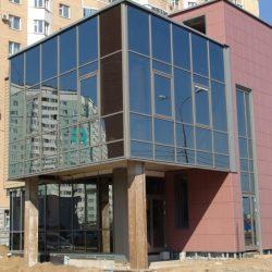 производство светопрозрачных конструкций для офисных центров