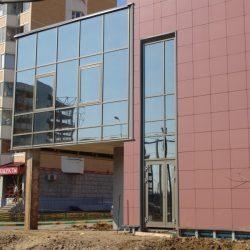 производство алюминиевых конструкций для офисных зданий